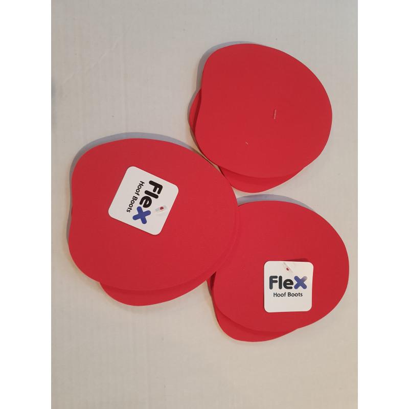 FlexPad Rouge semelle hipposandale Flex