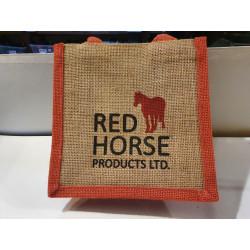 Sac en jute Red Horse