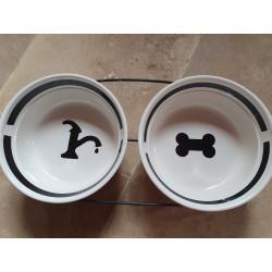 Gamelles pour chiens et chats en céramique